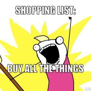 When you feel like shopping